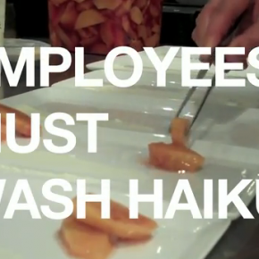 Employees Must Wash Haiku