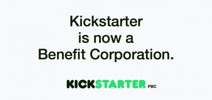 Kickstarter benefit